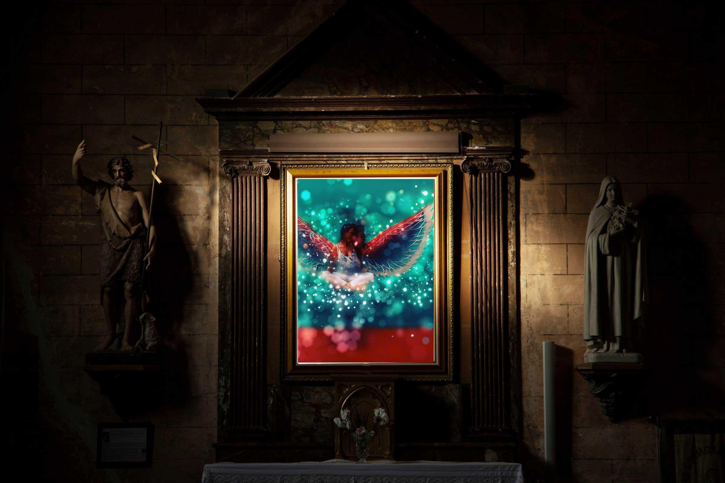 Engelkarte Beziehung der Liebe Botschaft