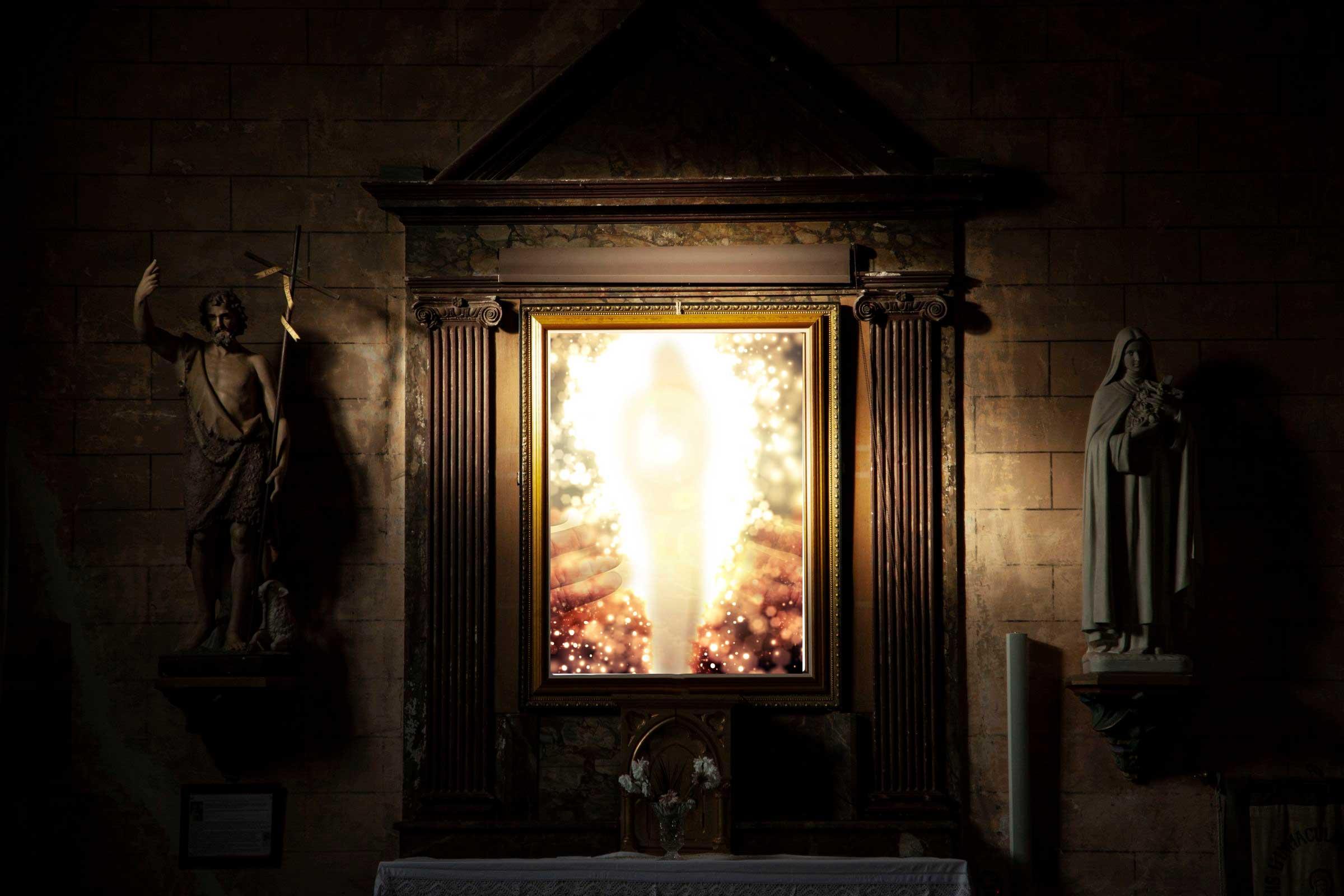 Engelkarte Erfüllungsflut Botschaft